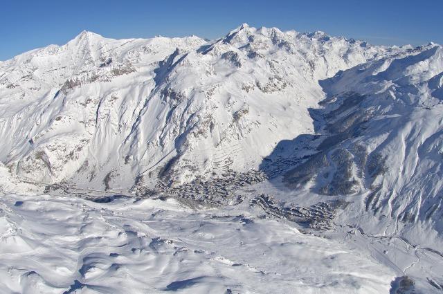 Ski into Val D'Isere