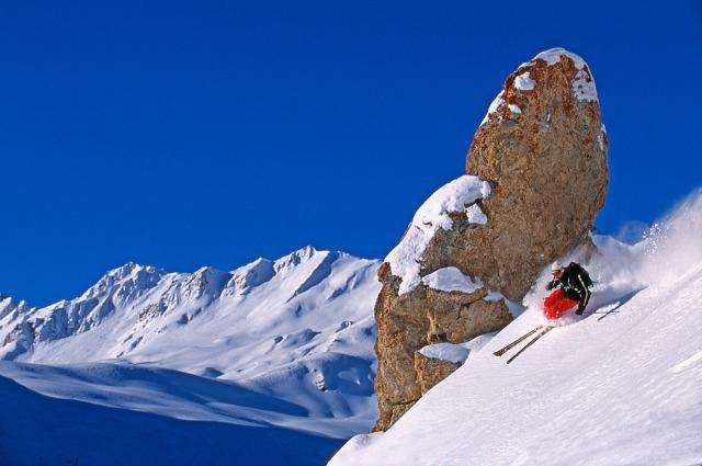 Above Tree Line Skiing