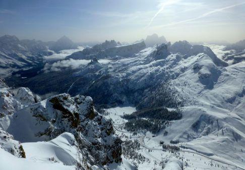 It's all ski terrain