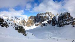 Skiing to a Rifugio